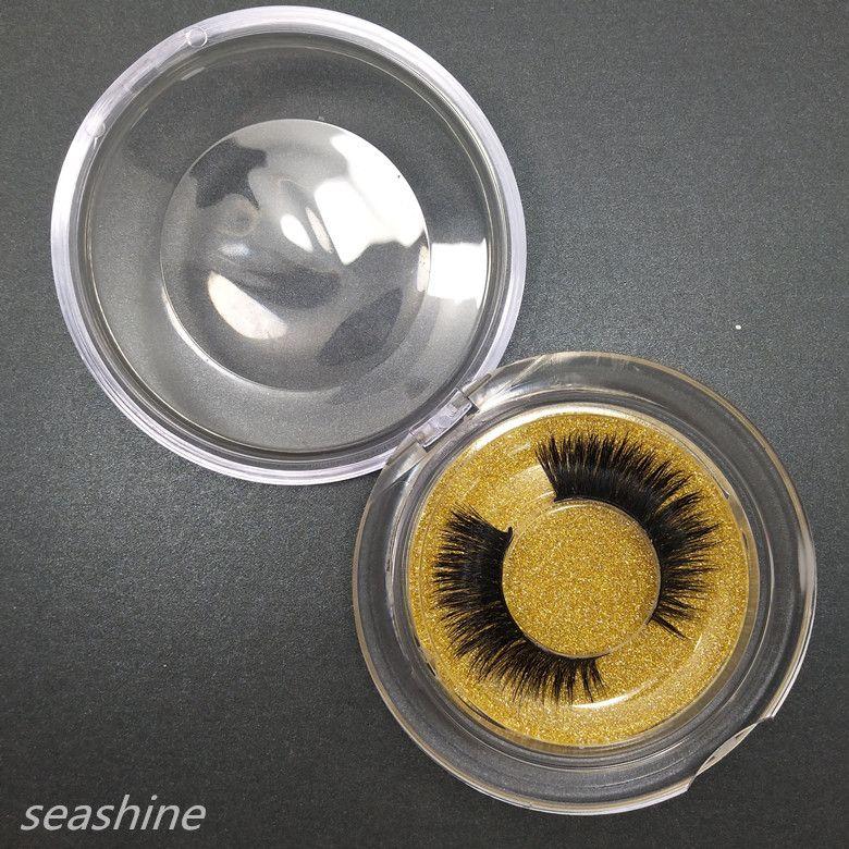 Seashine pestañas 3D Mink Full Strip pestañas de visón de larga duración natural pestañas volumen dramático extensiones pestañas falsas envío gratis