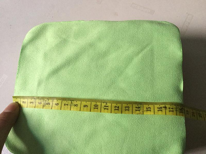 En gros 18 cm * 15 cm Haute qualité Lunettes Tissu velours épais doux Lentille Tissu non fade nettoyage vêtements, bijoux chiffon de nettoyage