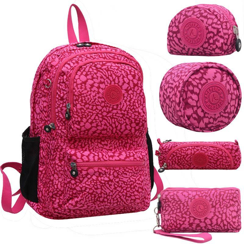 Wholesale Women Kiple Mochila Escolar Feminina Backpack School Bag For Teenager  Girl Pack Nylon Waterproof Backpacks Female Sac Bags Rucksack From Baby107 74756e470d65b