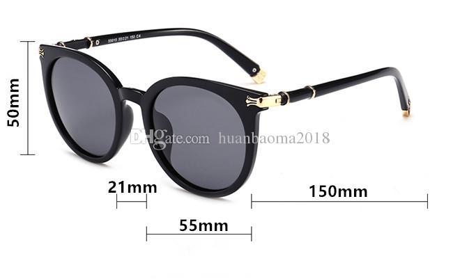 2018 дизайнер солнцезащитные очки высокое качество солнцезащитные очки женщин поляризованных солнцезащитные очки Солнцезащитные очки UV400 объектив с оригинальной коробке