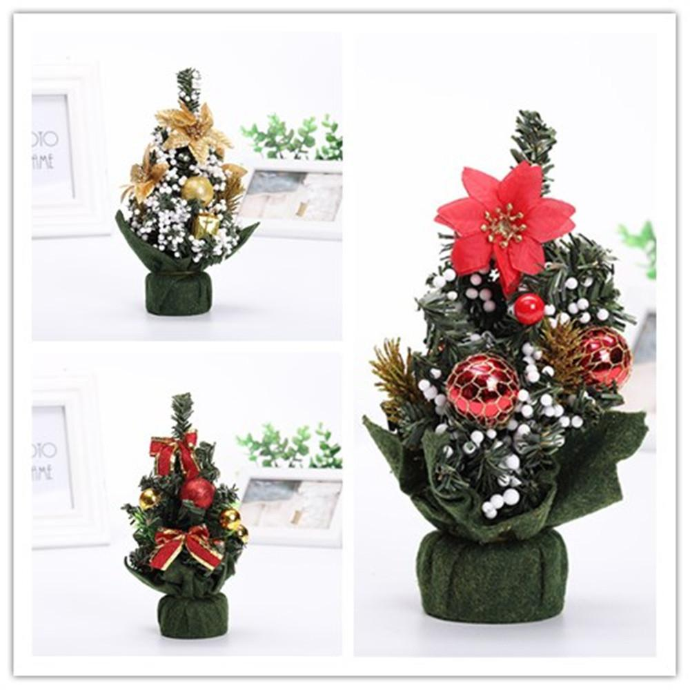 Home & Garden Merry Christmas Tree Bedroom Desk Decoration Toy Doll Gift Office Home Children Natale Ingrosso Christmas Decorations For Home Pendant & Drop Ornaments