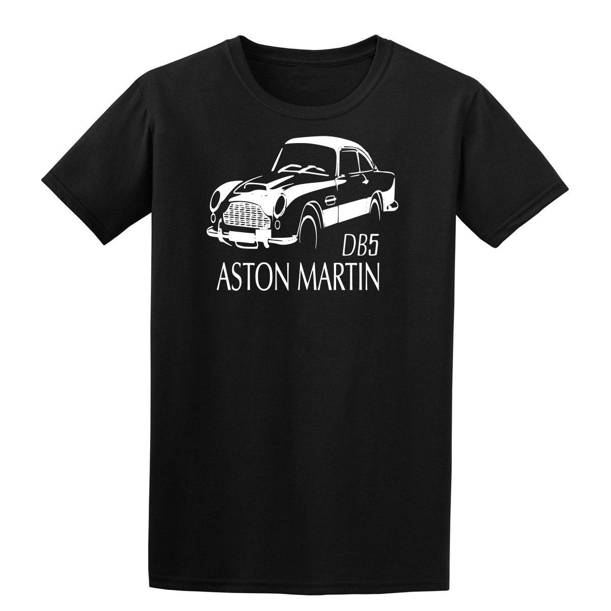 aston martin classic db5 mens t shirt s - 5xl black online with