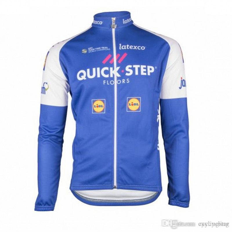 e3520f380 2017 New Etixx Quick Step Mens Cycling Clothing Bike Jersey Sports Wear  Cycling Jerseys Long Sleeve Mtb Jacket Ropa Maillot Ciclismo D0816 Best  Cycling ...
