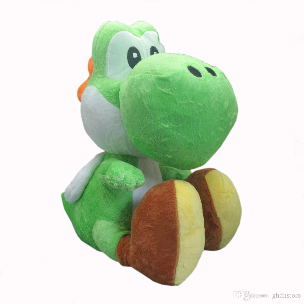 e1458654c46 Hot New 10.5 26CM Super Mario Bros Yoshi Plush Doll Anime Collectible Dolls  Gifts Stuffed Soft Toys Yoshi Yoshi Yoshi Online with  16.98 Piece on ...