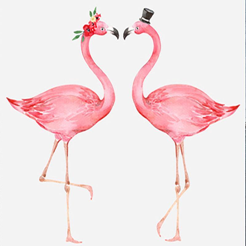 Satın Al Yeni Flamingo Elmas Boyama Diy Mozaik Nakış El Yapımı Ev