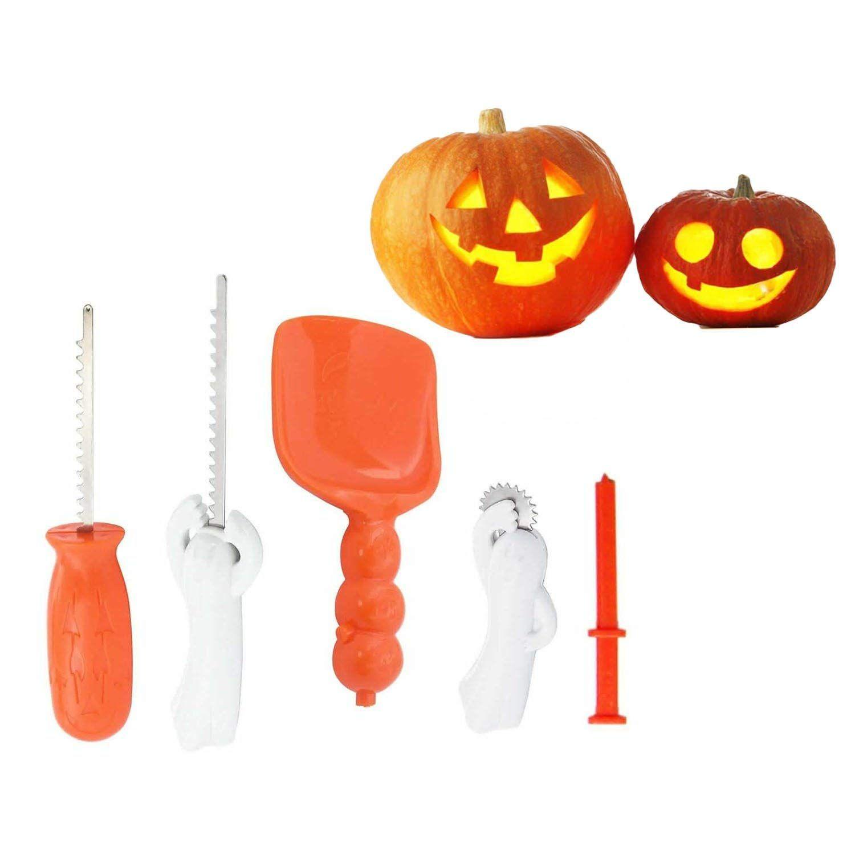 Pumpkin carving kit for kids easy halloween pumpkin carving