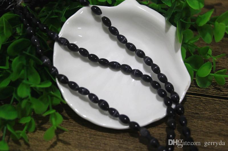 6x9mm cats eye glass rice shape beads,!1.2mm hole,factory price!A-Grade material,About