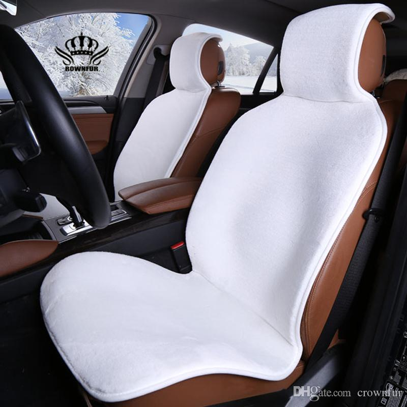 New Hot Selling Car Seat Covers Universal Faux Fur Styling For Lada Kia Cushion Cover Accessories Infant Liner