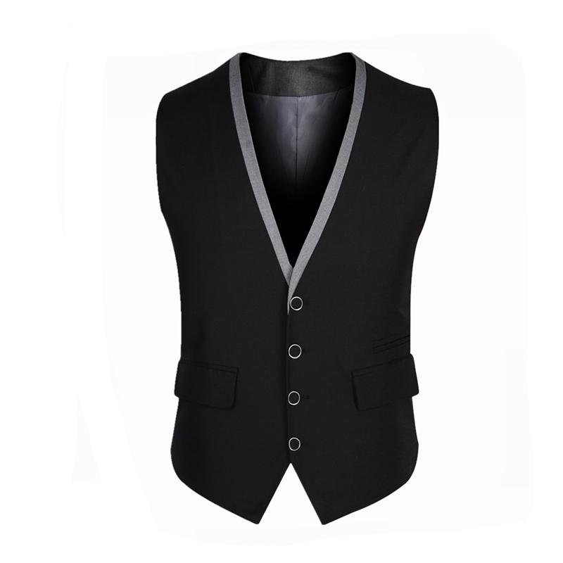 f34ae3e40d749 2019 2016 New Arrival Terno Masculino Men Suit Vest Spring Autumn Fashion  Dress Men S Business Blazer Tops Slim Fit Solid Waistcoat From Cailey