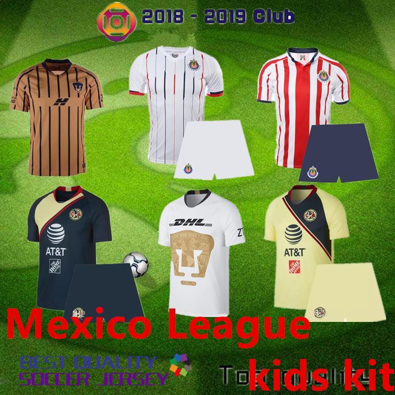 341af0540 Acheter 2018 19 Mexique Ligue Universidad Santos Laguna Cassha Intérieure  Marca Charly Monterey Maillot De Football Mexico La Liga Chemise Kit  Enfants De ...