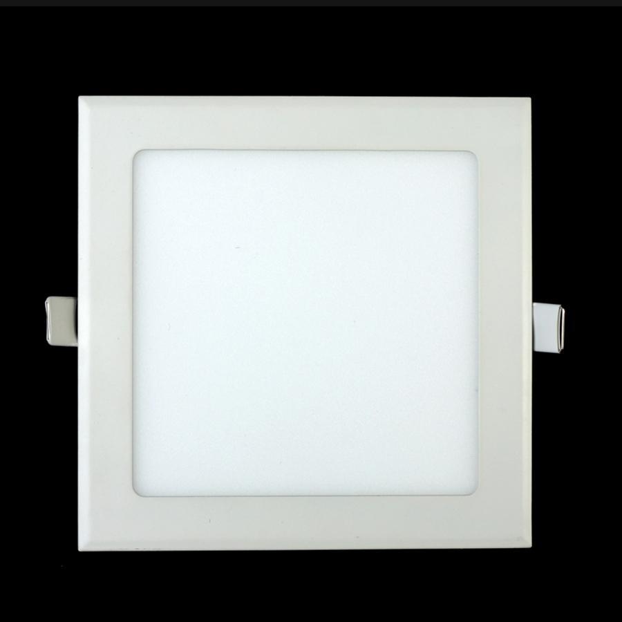 Downlight a LED 4W 6W 9W 12W 15W 25W Quadrato / Rotondo ultrasottile SMD 2835 Driver pannelli del soffitto del driver di luci Bianco freddo / naturale / caldo