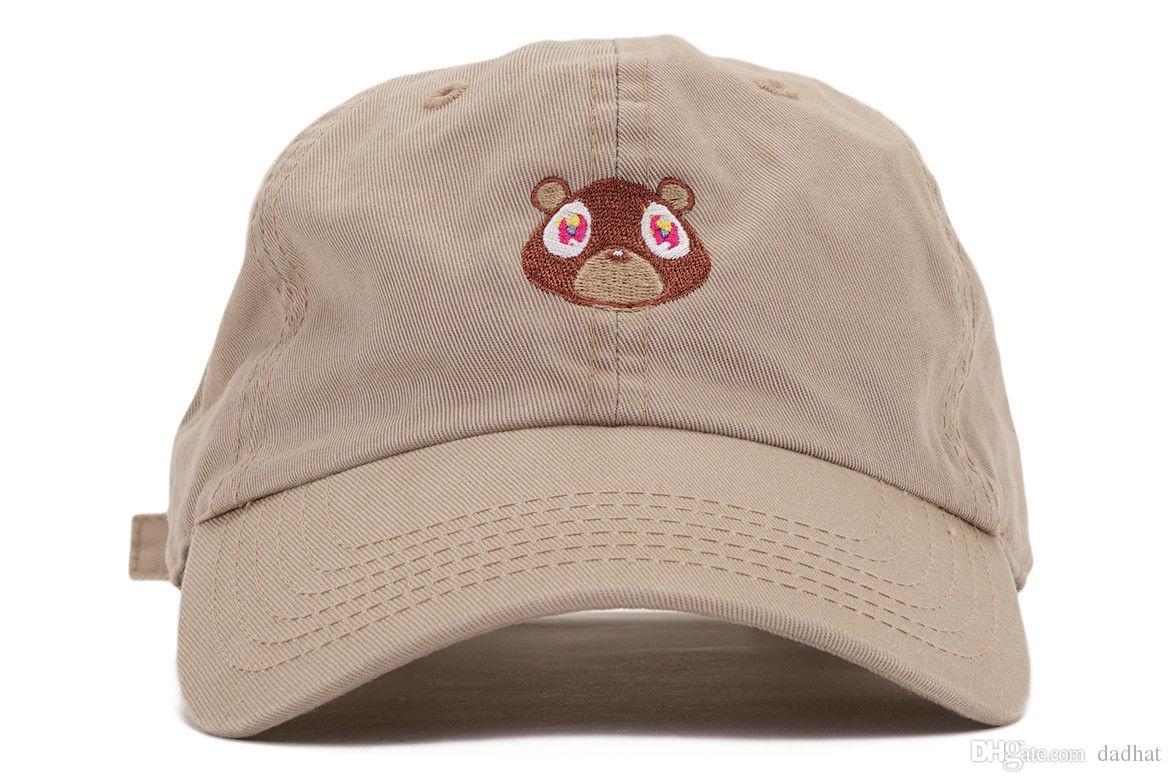 21a00cf8600 Kanye West Ye Bear Dad Hat Lovely Baseball Cap Summer For Men Women ...