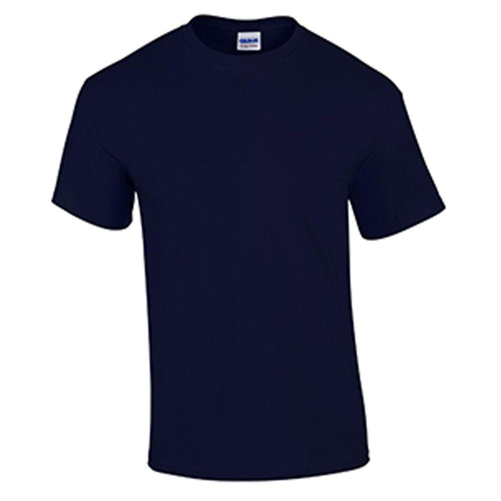 Navy Wholesale Blank Men'S T Shirt Casual Work Mens ...