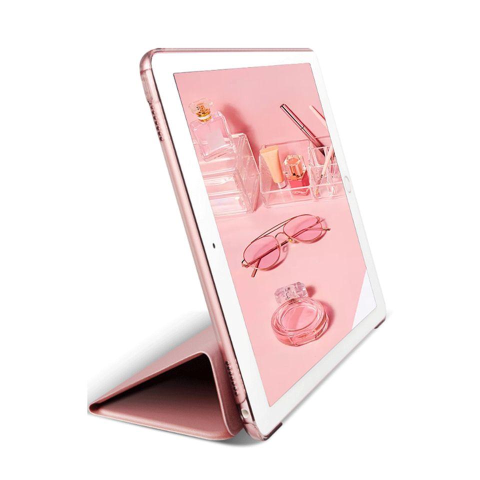 Ultradünne Auto Sleep Smart Filp harte PC-rückseitige Abdeckung für iPad 2 3 4 5 6 Air 2 Mini 3 4 Pro 12,9 11 10,5 9,7 2017 2018 Opp