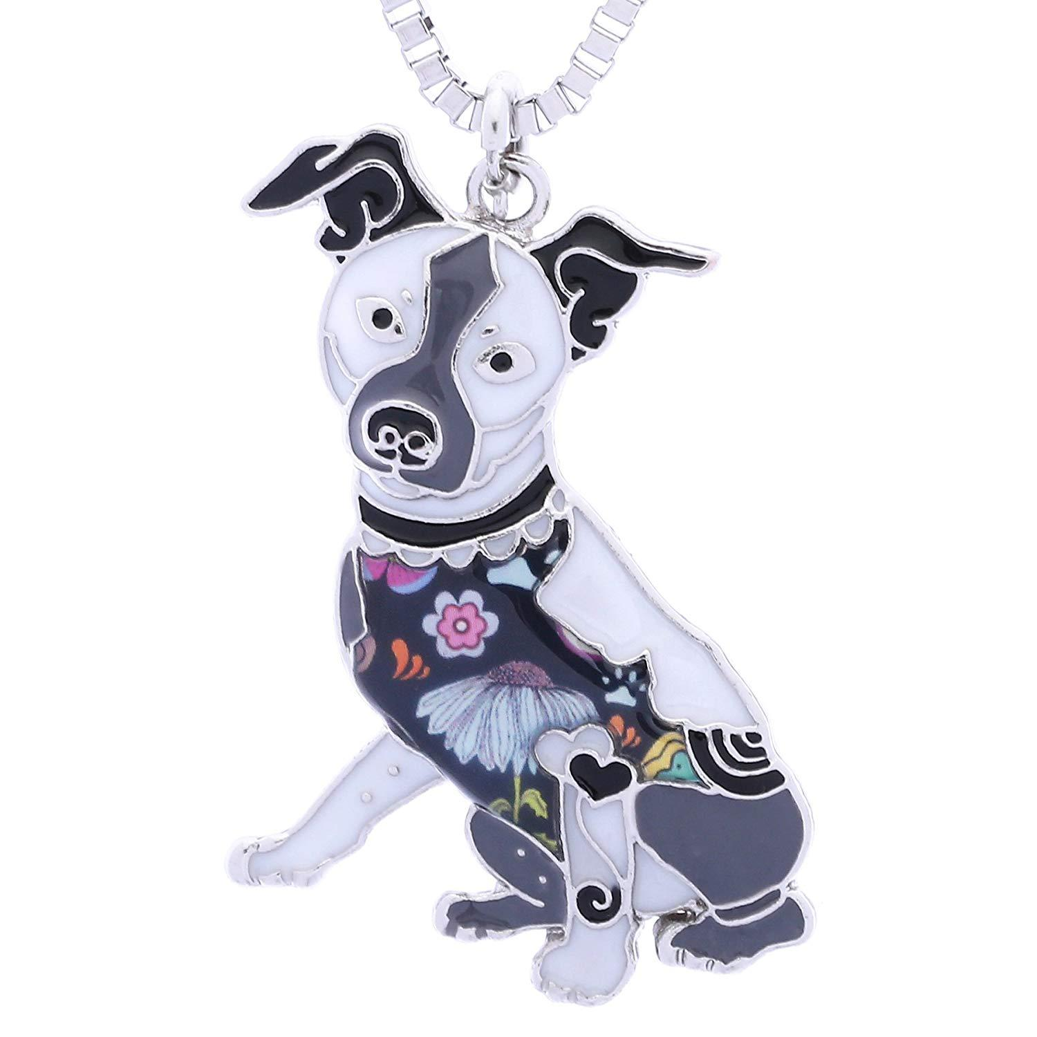 Wholesale Rat Terrier Birthday Gifts Pendant Necklace For Women Dog Lovers Pets Jewelry Can Be Used As Keychain Charms Bracelets From