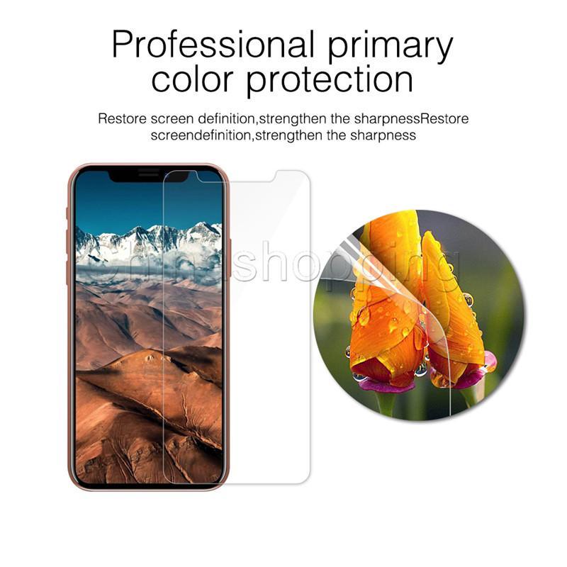iPhone X Xs Max 8 7 6 Plus Samsung J3 J7 Prime 2018 LG stylo 4 için i11 Pro Max temperli cam Ekran Koruyucu Koruyucu Film İçin