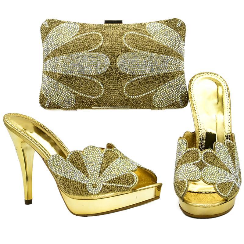 Women Italian Shoes with Matching Bag Set African Women Shoes And ... 5b82f84df3de