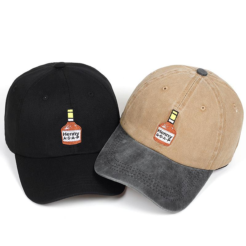 e85b89a3a men women s cap embroidery Henny ASAP dad hat hip hop summer curved women  men s baseball cap male female sun bone Garros