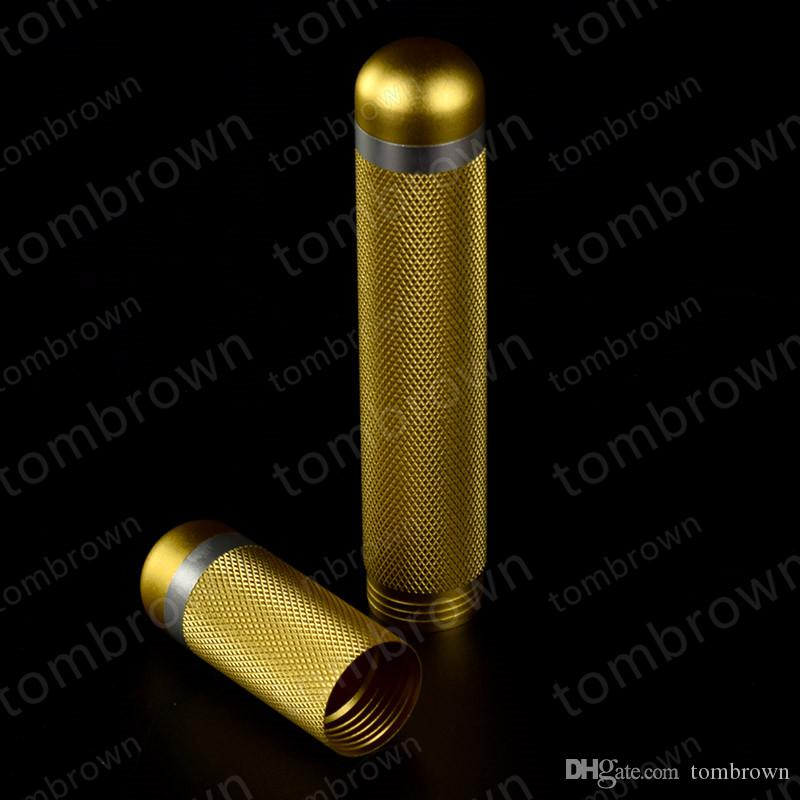 Personalidade da moda processamento de qualidade requintada preço de atacado MINI tubo humidors Caso Charuto Humidor Viagem Bonito Gadgets Cilíndrico Port