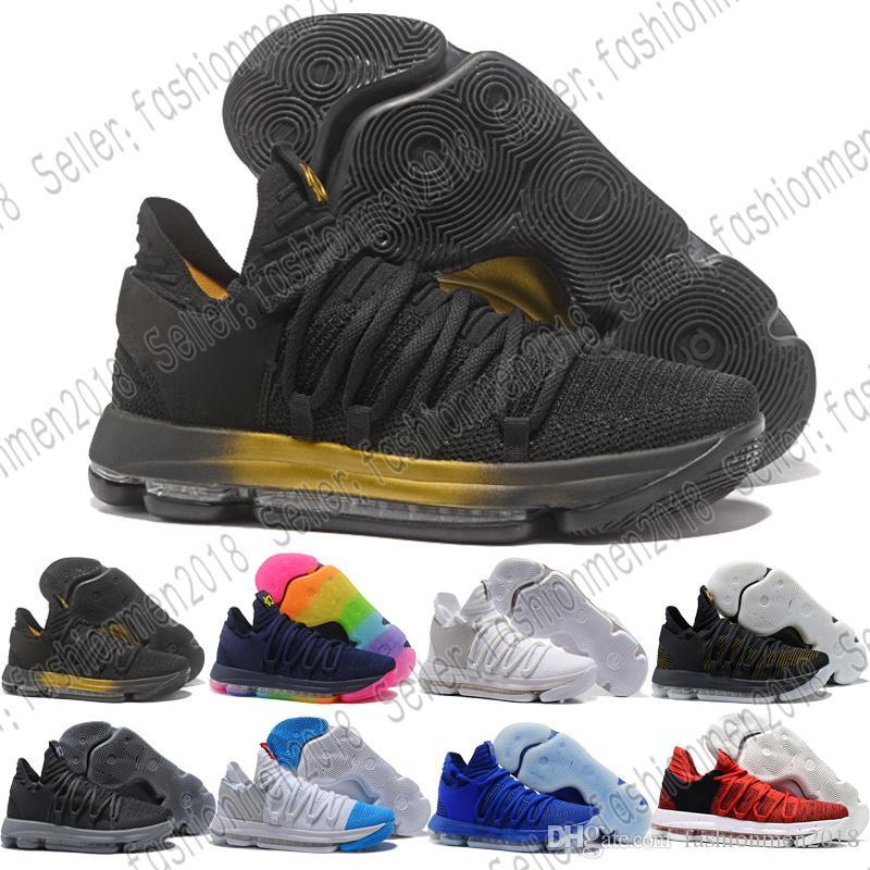separation shoes f1fa0 e34c8 Compre Con Caja NIKE ZOOM KD TREY XDR Nuevos Zapatos De Diseño Zoom KD 10  Anniversary PE Hombres Zapatos De Baloncesto KD X Elite Low Kevin Durant  Athletic ...