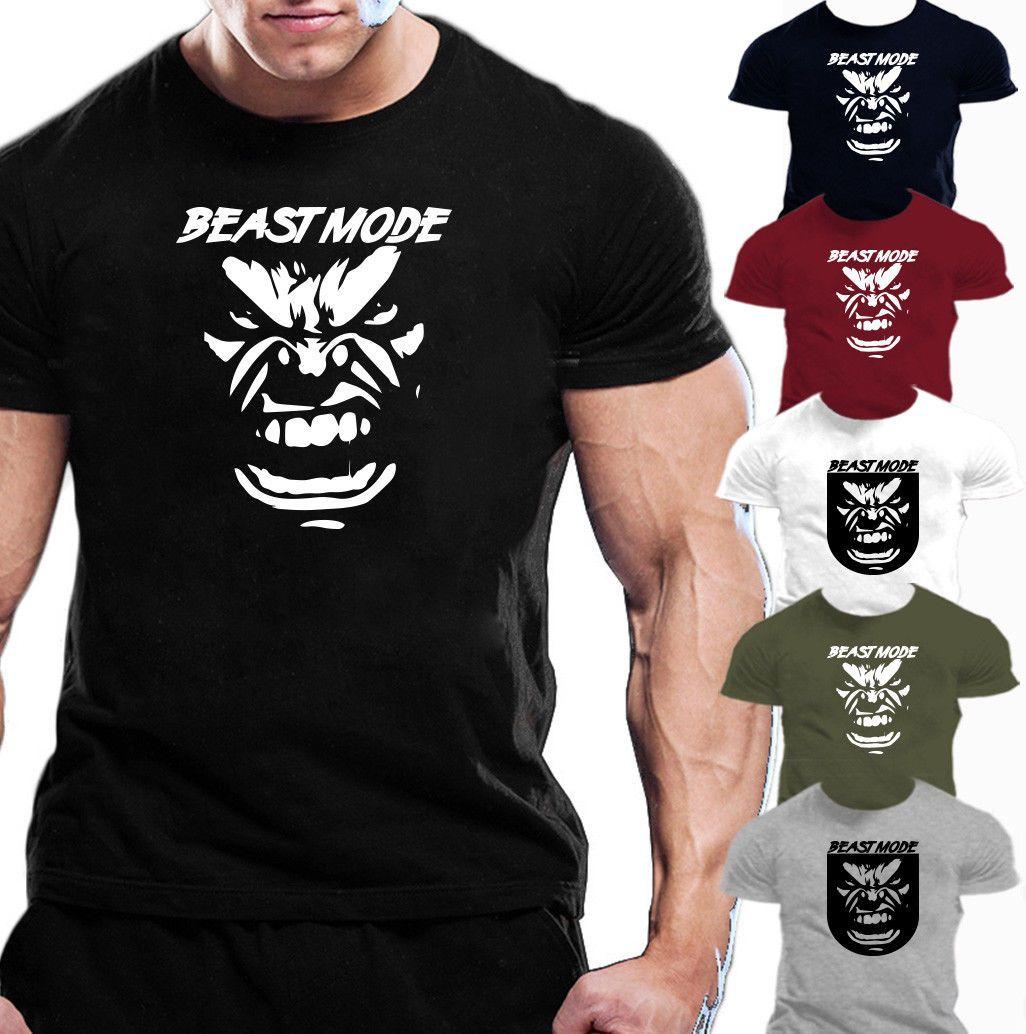 2abfd0db BEAST MODE MOTIVATION SLOGAN T SHIRT GYM GIFT IDEA TOP Funny Unisex Casual  Tee Gift Ordering T Shirts Rude T Shirt From Tshirtsinc, $12.96  DHgate.Com