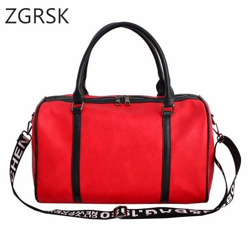Large Waterproof Travel Duffel Bag For Women Hand Vintage Mens Leather Travel  Duffle Travelling Bags Pu Leather Weekend Bag Men Personalized Bags Buy Bags  ... c0e39dca9e14f