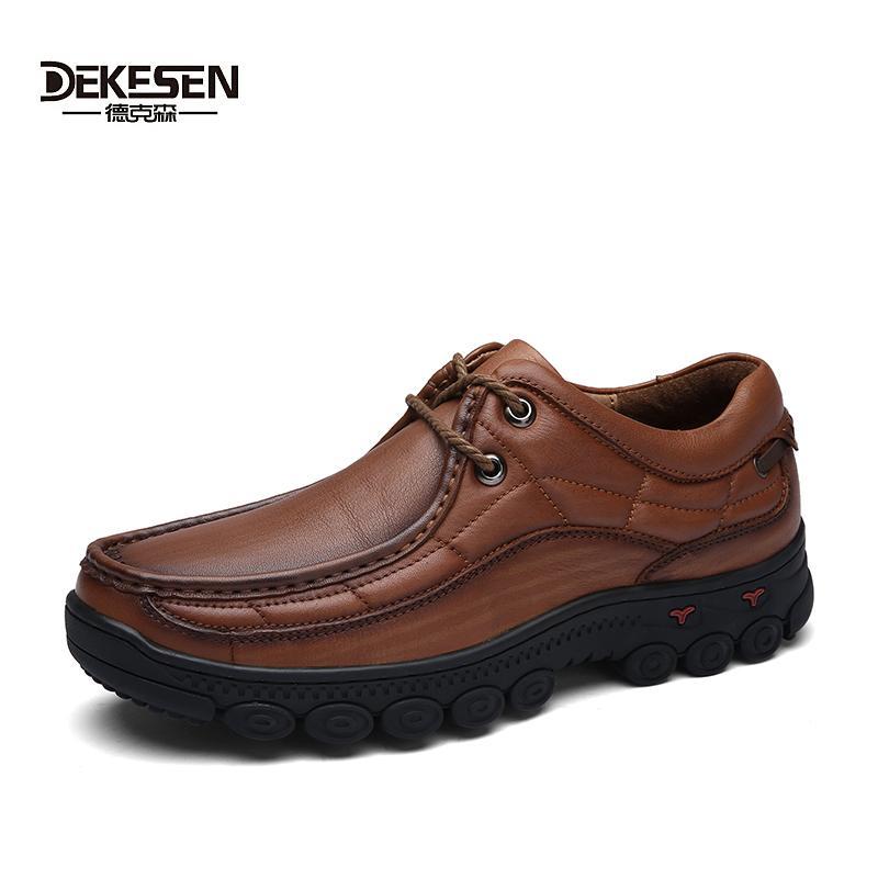 Hommes Acheter 100 Britannique En 2017 Classique Chaussures Dekesen Wq8x8wA6gO