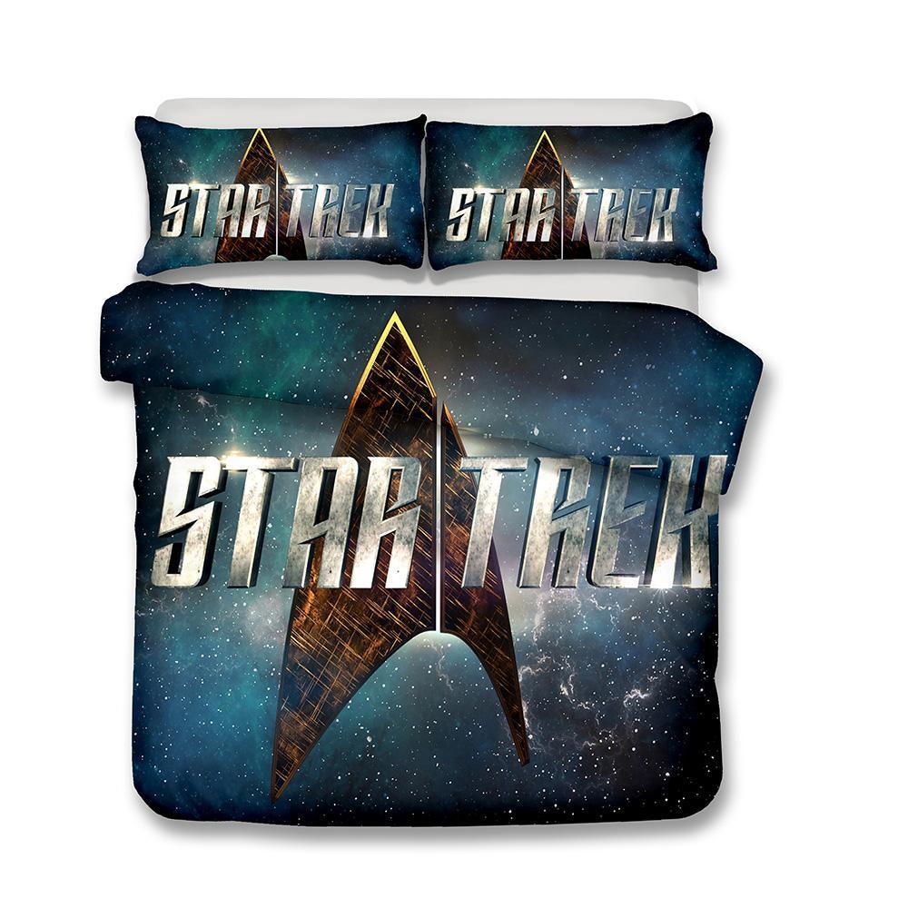 Großhandel 3d Bettwäsche Star Trek Printed Bettwäsche Sets