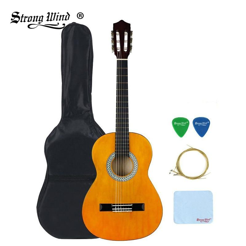 Strong Wind 34 Size 36 Inch Classical Acoustic Guitar 6 Nylon