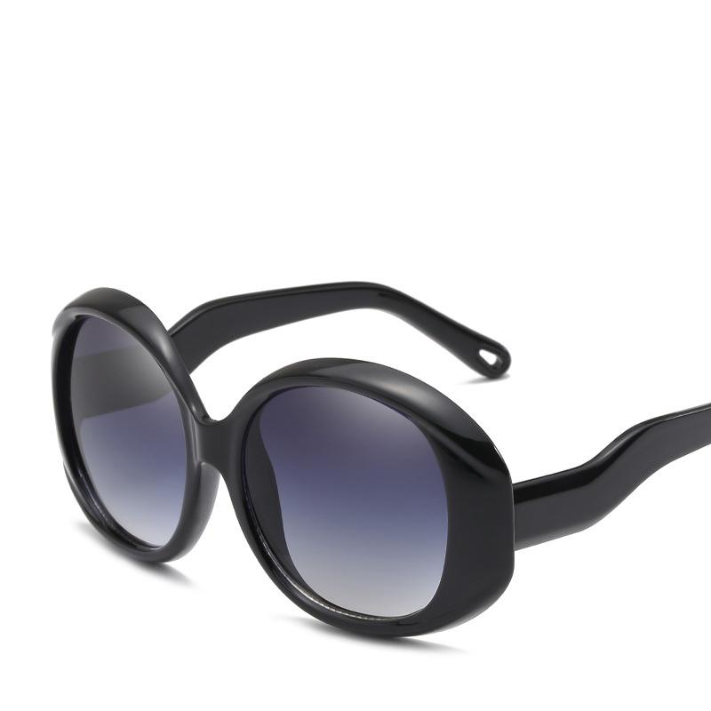 2209256612e6 Cat 3 Uv400 Recycled Black Plastic Sunglasses Unique Style Bend Wrinkled  Temple Brand Designer CE FDA VA27 Online Eyeglasses Discount Sunglasses  From ...