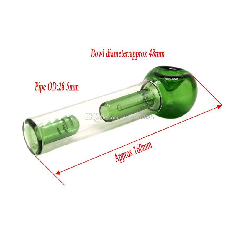 Glas Tasche Bubbler über 6,2