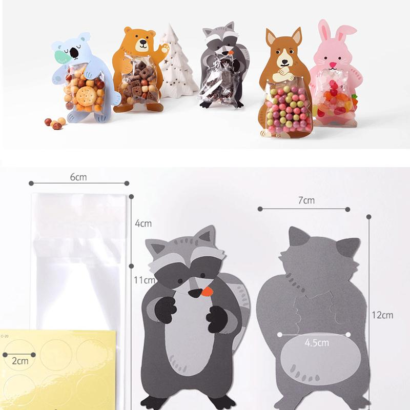 10pcs-lot-Cute-Animal-Bear-Rabbit-Candy-Bags-Cookie-Bags-Gift-Bags-Greeting-Cards-Baby-Shower