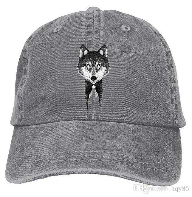 020341b3 Mr Wolf II Adult Cowboy Hat Baseball Cap Adjustable Athletic Design Awesome  Hat for Men and Women