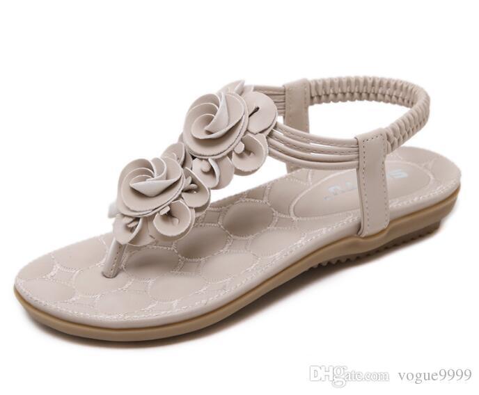 2018 Commercio all'ingrosso NUOVO Pantofole da bagno in gomma nera con scivolo Sandali Design Donna con infradito in stile classico da donna estate 1pz / lotto