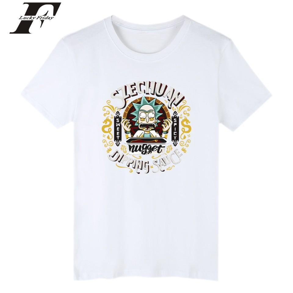 Wholesale Rick And Morty T Shirts High Quality Punk Hipster Tee