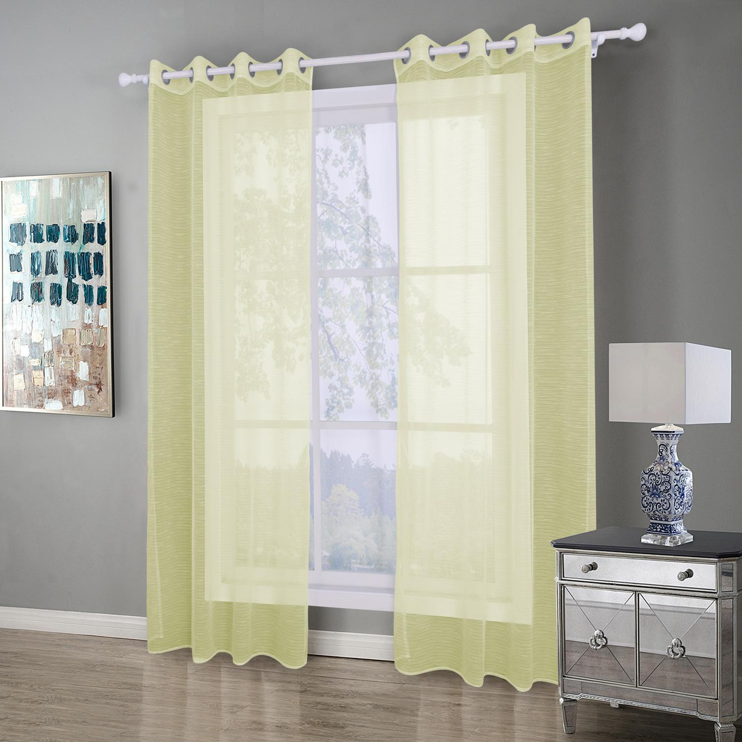 8005 Modern Sheer Curtains For Living Room Bedroom Curtains For ...