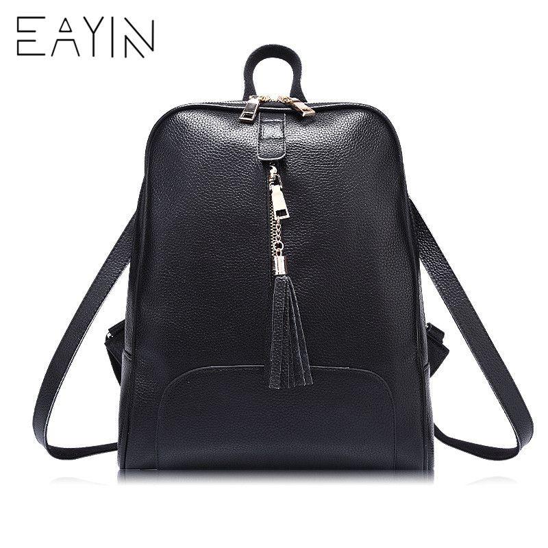 25dd89c961 EAYIN Fashion Designer Women Genuine Leather Backpack Female Shoulder  School Bags For Teenagers Travel Female Knapsack Back Bag Camo Backpack  Batman ...