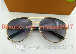 4b21d91e380 Mens Designer Sunglasses Sunglasses Gold Frame Pilots Metal Frame ...