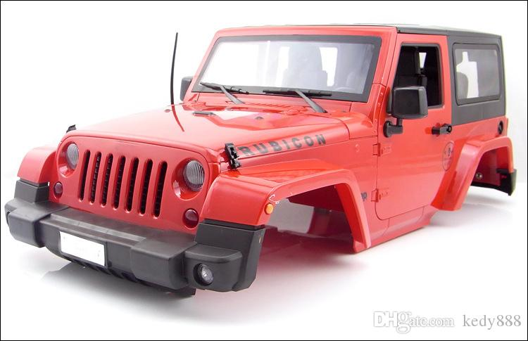 2019 High Quality Rc Rock Crawler 1 10 Jeep Rubicon Car Shell For