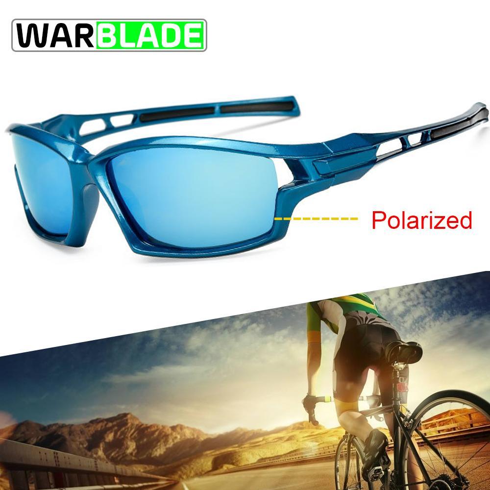 7be5330c2b Gafas De Sol Deportivas Gafas De Ciclismo Polarizadas UV400 Gafas De Bicicleta  Hombres Mujeres Ciclismo Gafas De Sol Pesca Running Eyeware WarBLade Por ...