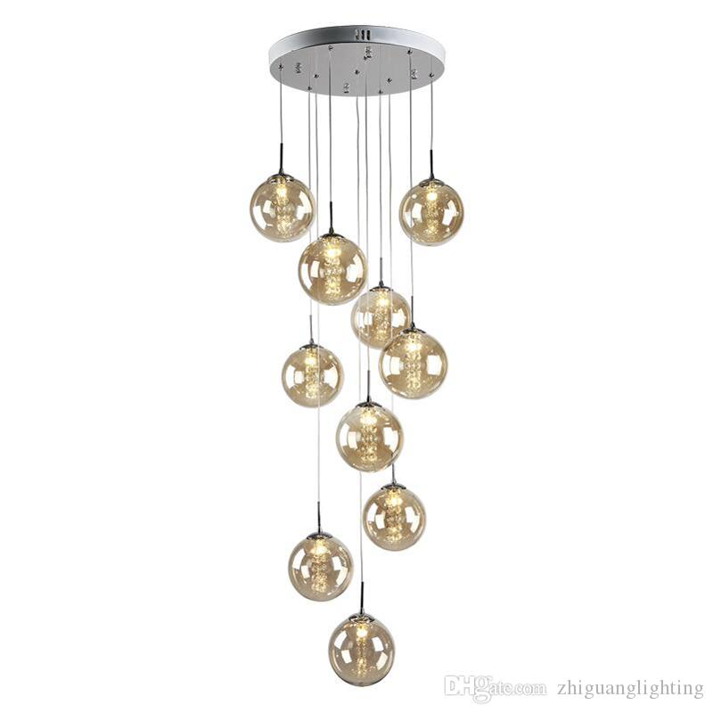 United American Country Wrought Vintage Metal Hemp Rope Wire Ball Pendant Lamp D40cm Chandeliers