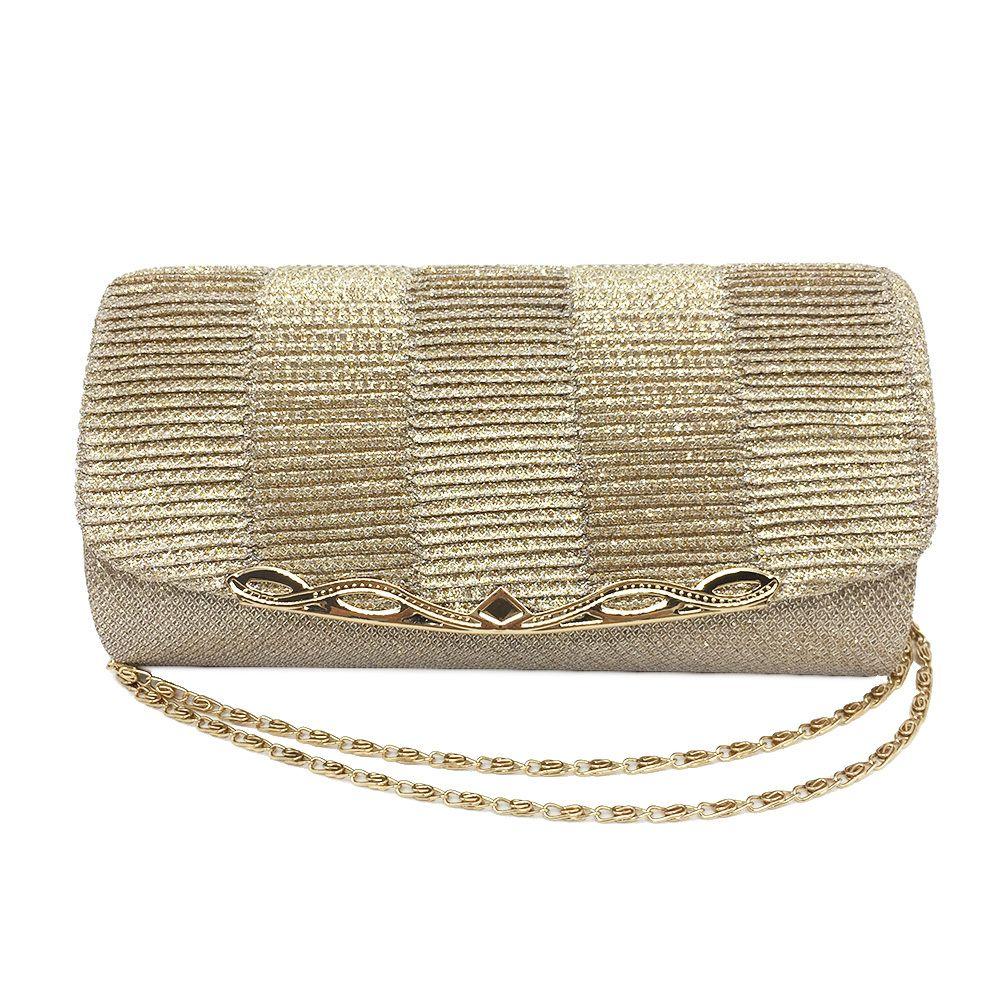 bd8efb86beea2 2018 Shiny Women Evening Bag Fashion Wedding Women Clutch Bag With Chain  Luxury Glitter Party Bridal Ladies Handbags Bolsa Mujer Online with   32.88 Piece on ...