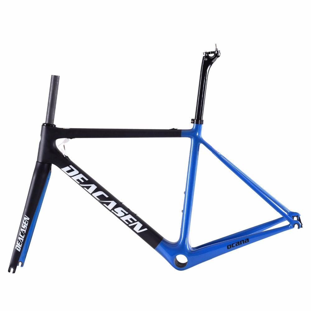 Full Carbon Frame 2018 Mechanical&Di2 Carbon Fiber Road Bike Frame ...