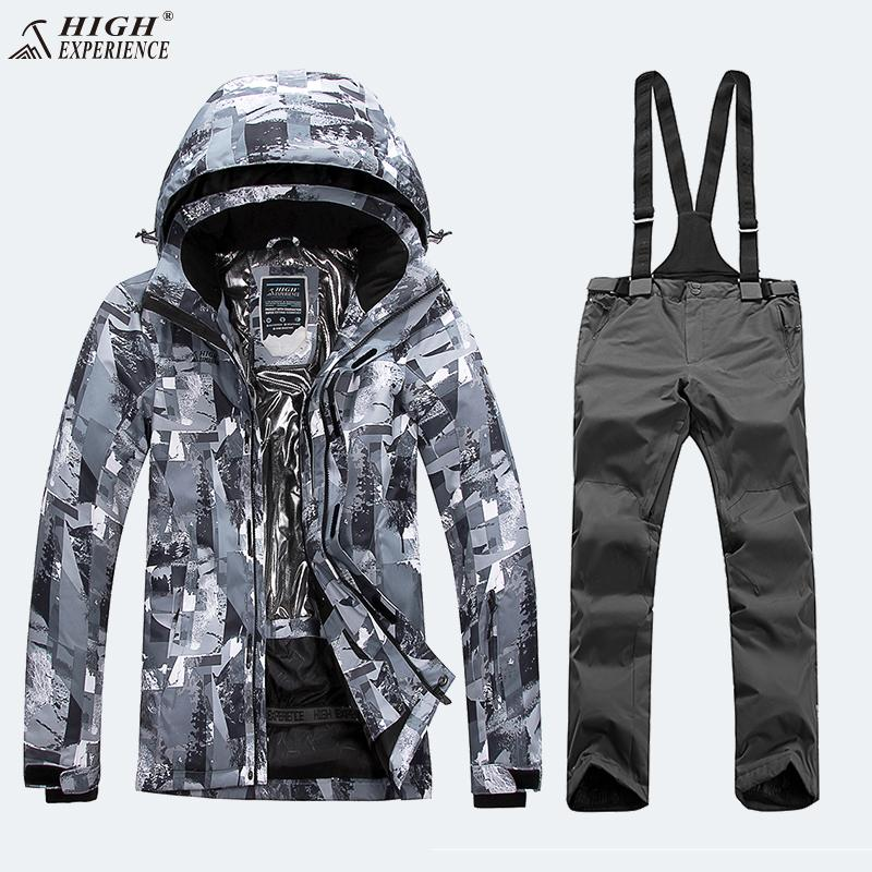 ee461a3c1f 2019 Camo Winter Jackets Man Ski Suit Men Snowboarding Sets Mountain Skiing  Hiking Thicken Coat Waterproof Windbreaker Snow Clothes From Yiyunwat