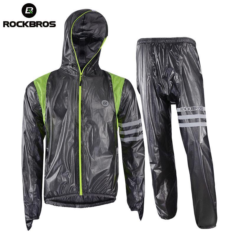 afbe99d48 ROCKBROS Waterproof Mountain Bike Raincoat Men Cycling Clothing Bike  Bicicletas Raincoat Windbreaker Cycling Rain Jacket Jerseys Mountain Bike  Clothing ...