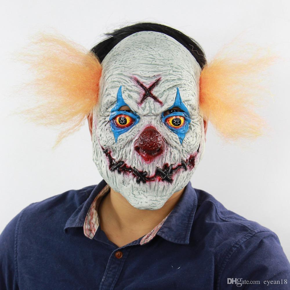Spaventoso Maschera Da Clown Maschera Payday Del Partito Di