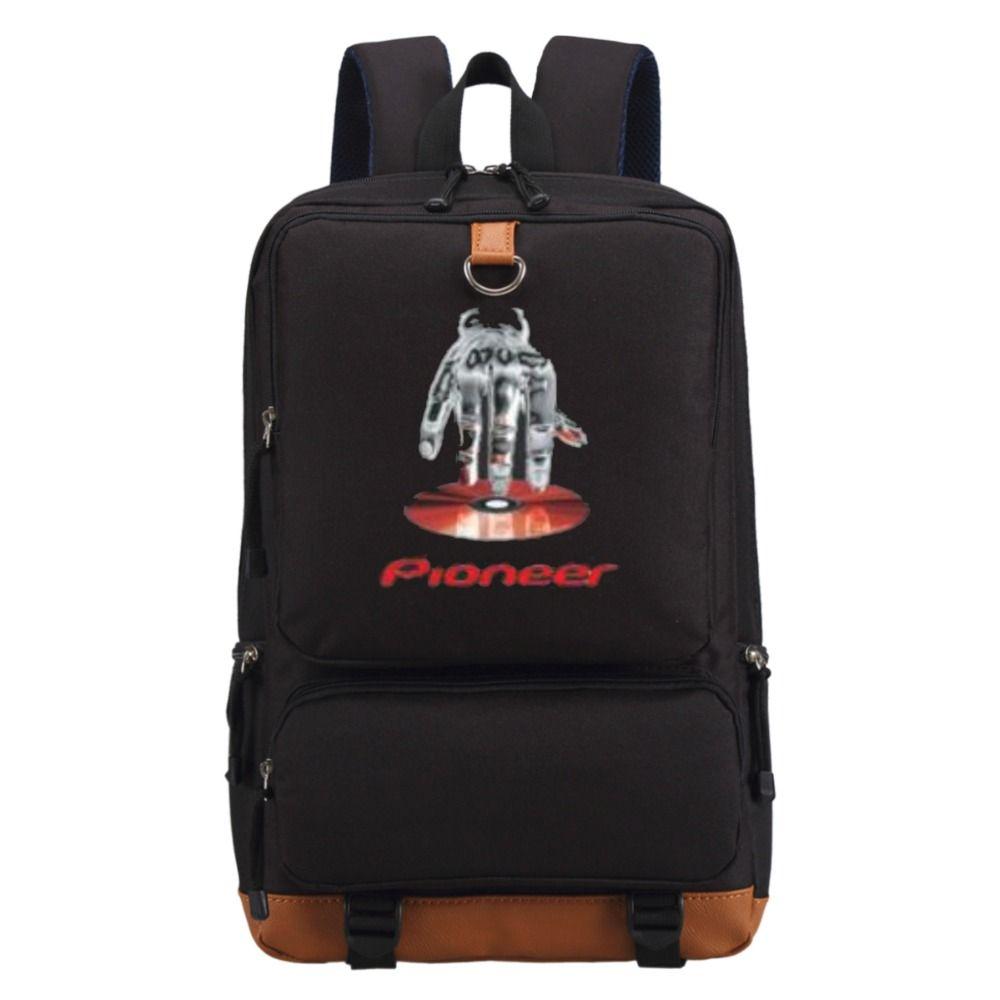 New Pioneer Travel >> Wishot New Pioneer Dj Pro Backpack Shoulder Travel School Bag