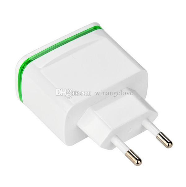 4 USB Ports 5V 4A USB Ladeadapter Reiseladegerät Adapter Mit LED-Licht Aufladung Für iphone 6 7 8 X Samsung s9