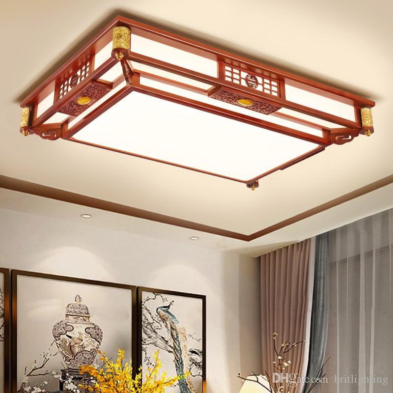Großhandel Chinesische Led Deckenleuchte Wohnzimmer Teehaus ...