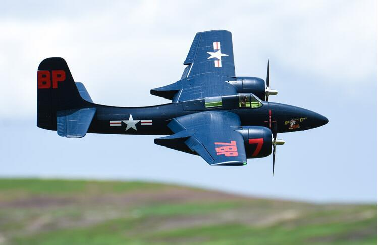 FMS 1700mm F7F Giant Scale RC Warbird Aircraft Model,F-7F,radio control  model,PNP and KIT